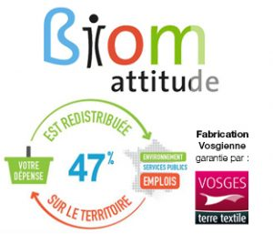 D'après Biom Garnier-Thiebaut reverse 47% de son chiffre d'affaires localement