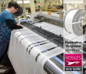 Métiers à tisser de Manufacture textiles Vosges agréées Vosges terre textile