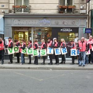 Operation-flashmob-Paris-filiere-textile-vosgienne-91